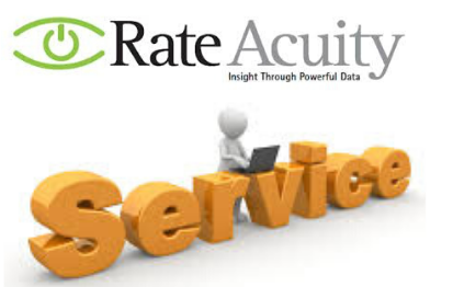 The RateAcuity service gives insight through powerful data